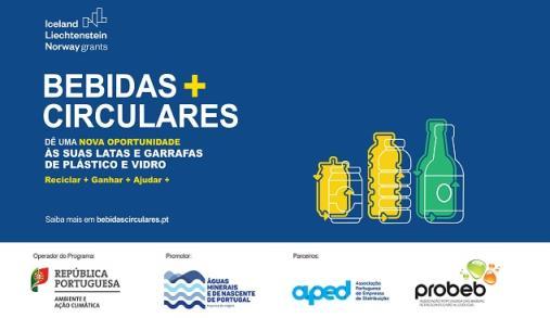 """Bebidas+Circulares"" promove reciclagem"
